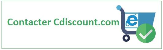 Téléphoner, envoyer un courrier ou un email à Cdiscount