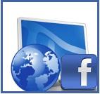 email Facebook