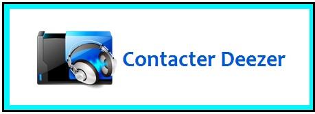 Deezer contact