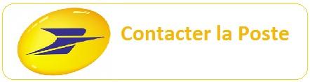 Contact la Poste pour colissimo