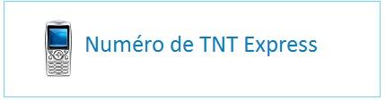 Contater TNT par téléphone