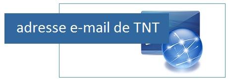 Contacter TNT par mail