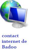 envoyer un e-mail à Badoo