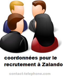 contact recrutement Zalando
