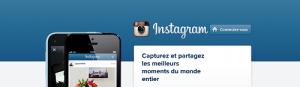 accueil du site internet instagram