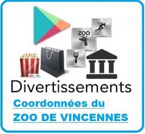 Contactez le zoo vincennes