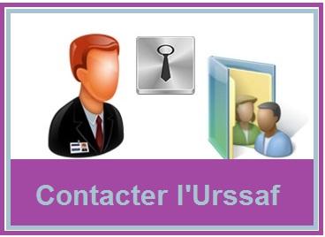 Contact e-mail, tél, postal Urssaf