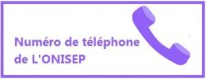 Numéro de téléphone Onisep