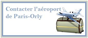 Téléphone, email Aéroport d'Orly