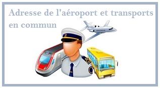 coordonnées de l'aéroport d'Orly