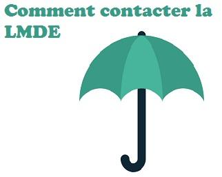 coordonnées de la LMDE