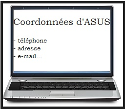 contact ordinateur asus