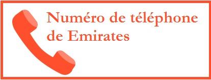 contact téléphone de Emirates