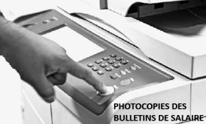 photocopier avant d'envoyer à pole emploi