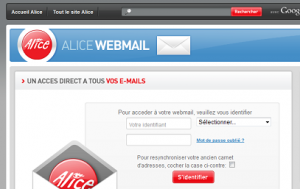 contact internet Alice