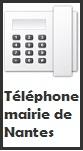 Téléphoner à la mairie de Nantes