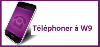 contact téléphone de W9