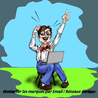 contact par Email
