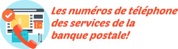 téléphone banque postale
