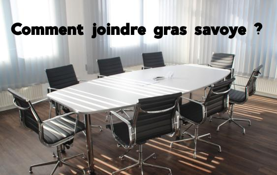 joindre gras savoye