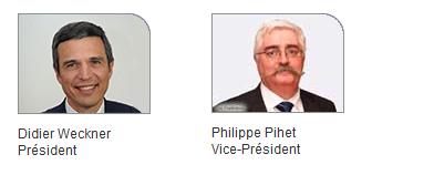 le president et vice de arrco