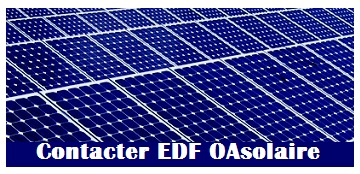 Contact EDF oasolaire