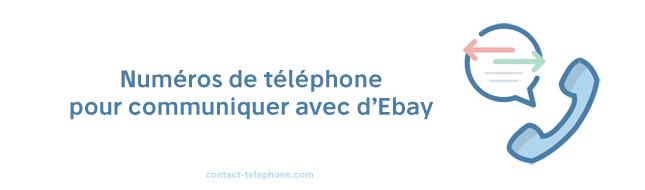 Ebay numero de téléphone