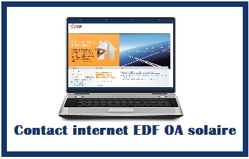 email EDF OA solaire