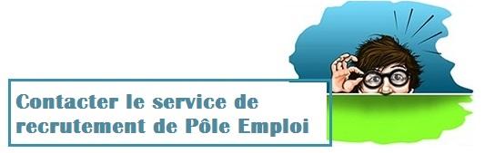contact recrutement Pôle Emploi