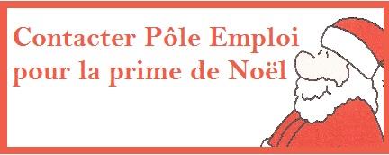 contact Prime de Noël - Pôle Emploi