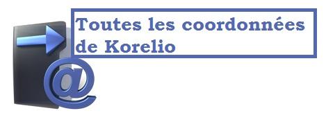 convention décés  – Adresse postale de KORELIO TP, numéro de téléphone …