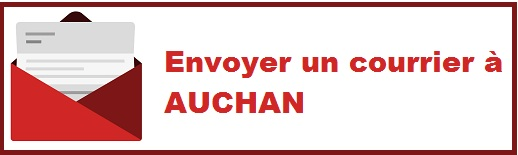 Adresse d'Auchan pour l'envoi de courrier