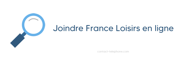 Contacter France Loisirs
