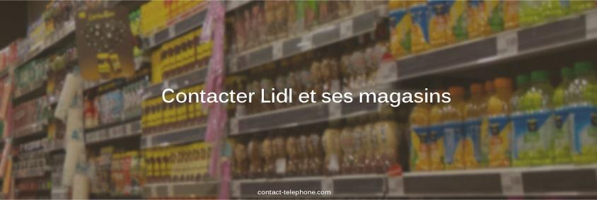 Contacter Lidl