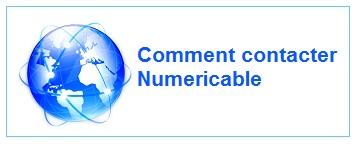 Contact Numéricable : téléphone , Email, adresse, courier...