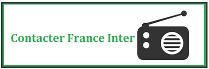comment joindre france inter