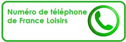 Numéro de téléphone de France Loisir
