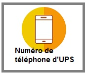 Téléphoner à UPS