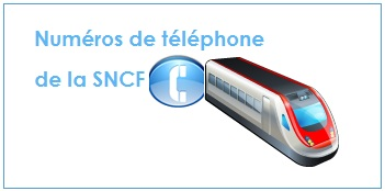 Numéro de téléphone de la SNCF