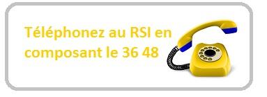 Numéro de téléphone du RSI