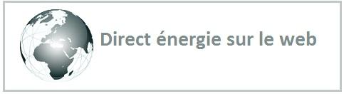 Contacter direct énergie sur internet