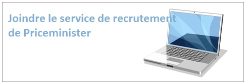 E-mail recrutement Price minister