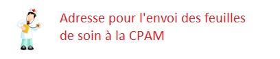 Adresse de la CPAM de Paris