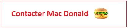 Contacter MacDo : adresse, numéro...
