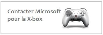 Coordonnées de Microsoft