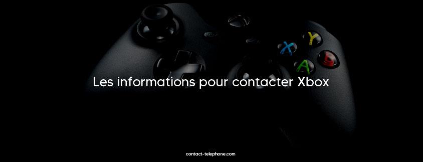 Contacter Xbox