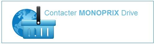 Contacter Monoprix Drive