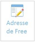 Envoyer un courrier pour la Freebox