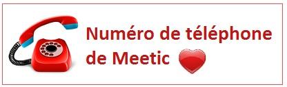 Numéro de téléphone de Meetic