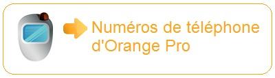 Numéro d'Orange Pro